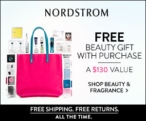 Free Beauty Gift With Purchase at Nordstrom