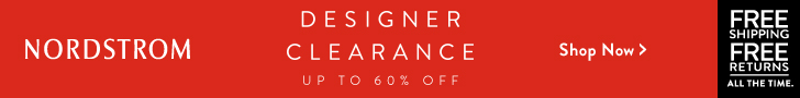 NORDSTROM -Designer clearance: up to 60% OFF top collections