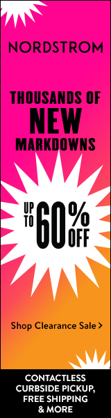 Clearance sale at Nordstrom's