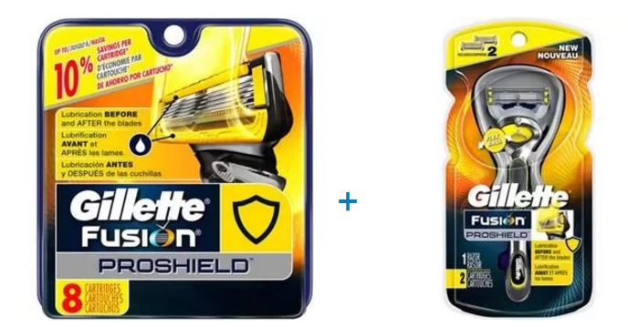 air filter Gillette Fusion ProShield Mens Razor and 10 Refills Bundle / Gift Pack (Save up to $10)