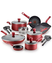 $79.99 T-Fal Culinaire 16piece Sets in Red or Champagne. Shop now at macys.com! Valid 5/24-5/29