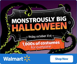 FREE Walmart Savings for Halloween