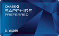 Chase Sapphire Preferred® Credit Card - Earn $500 in Travel Rewards