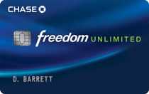 Chase Freedom Unlimited SM