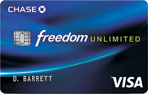 Chase Freedom Unlimited ℠