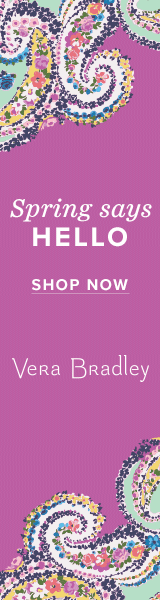 Buy vera bradley holiday confetti hoops in rose gold tone earrings | jewelry and accessory at Vera Bradley Designs Inc.