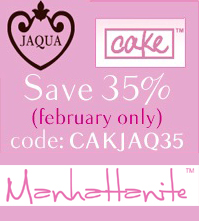 Save 35% off Cake & Jacqua at ShopManhattanite.com! Use Code: CAKEJA35, Valid thru 2/28/13. Shop Now!
