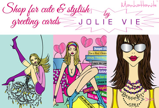 Shop for Cute & Stylish Greeting Cards by Jolie Vie at ShopManhattanite.com!