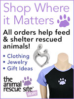 Shop For Jewelry, Clothing And More To Help Rescue Animals!