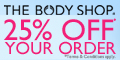 The Body Shop UK banner