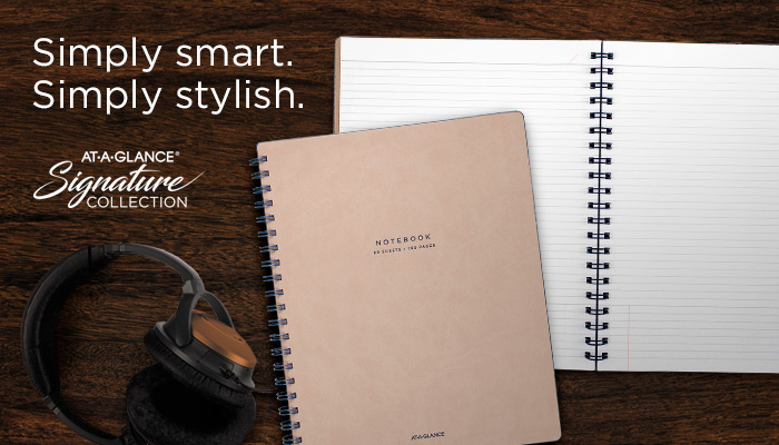 Simply smart. Simply stylish. At-A-Glance planner