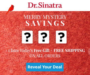 Dr. Sinatra - 12 Days of Merry Mystery Healthy Savings + Free Shipping