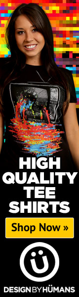 Design By Humans Pixel TV Graphic Tee
