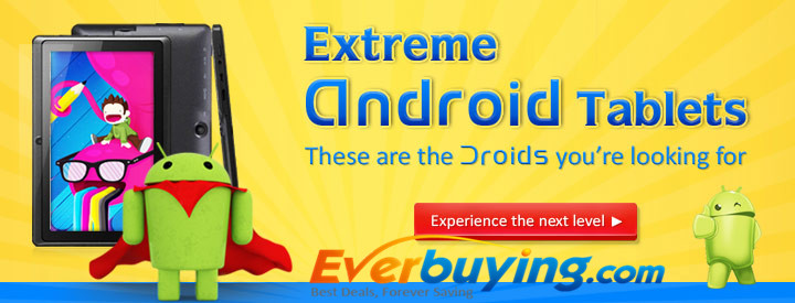Extreme Android Tablets!