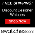 Free Shipping on All Designer Watches!