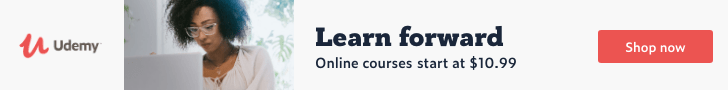 Learn forward. Online courses start at $10.99