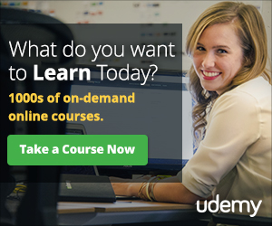 Udemy - take an online course today
