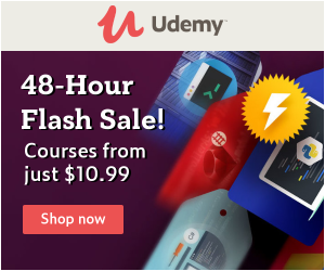 48-Hour Flash Sale! Courses from just $10.99