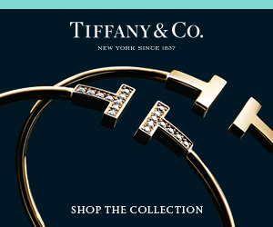 Tiffany T Wire Gold & Gold with diamonds 300x250