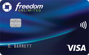 the chase freedom credit card