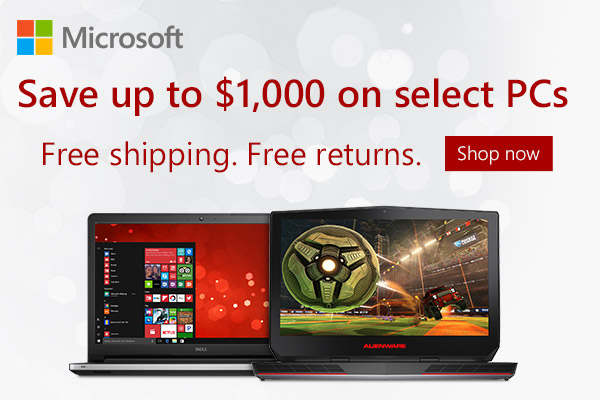Microsoft Stores Christmas Sale: Up to $1000 Off Select PCs