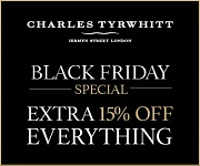 Charles Tyrwhitt - Black Friday - 180x150