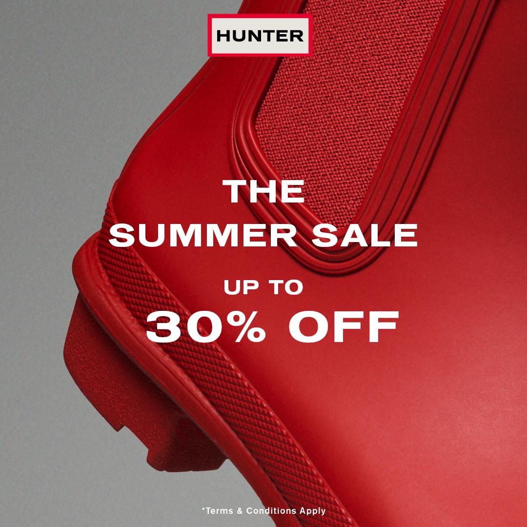Hunter Boots Header Image