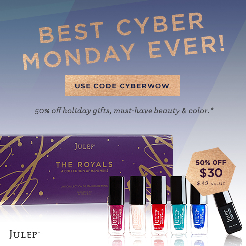 Julep Cyber Monday Deal