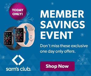 Member Savings Event Sale at Sam's club