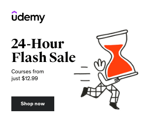 Udemy 24-Hour Flash Sale: Online Courses from $12.99