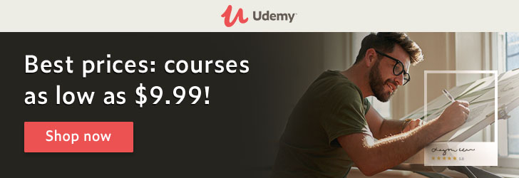 Udemy courses best prices now as low as $9.99