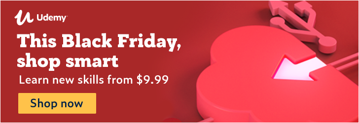 Cyber Monday savings. All. Week. Long. Starting at $9.99.