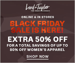 Lord and Taylor Black Friday Sale