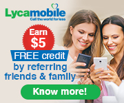 Lycamobile - Refer a Friend (180X150)