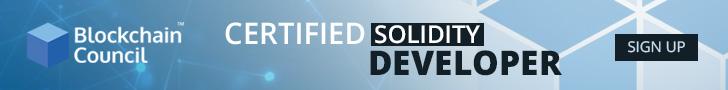 Certified Solidity Developer